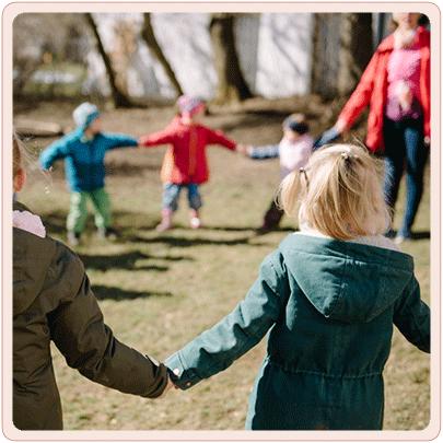 Kindergarten draussen
